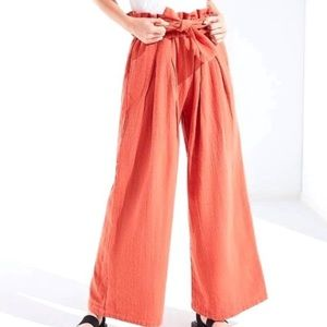 Urban Outfitters Paper Bag Flare Pants